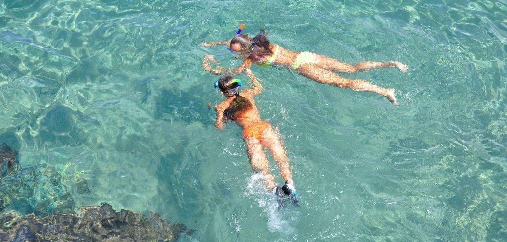 Schnorcheln am Meer von Fuerteventura